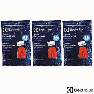 Kit Sacos para Aspirador de Pó Electrolux Nano 9 Unidades