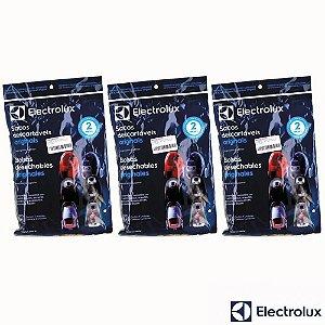 Kit Sacos para Aspirador de Pó Electrolux Clario   Ultraone 9 Unidades