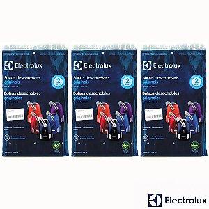 Kit Sacos para Aspirador de Pó Electrolux Berry 9 Unidades