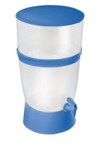 Filtro de Água de Plástico Seleto Azul 10 Litros Sap Filtros