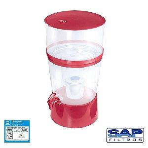 Filtro de Água The Filter de Plástico Vermelho Sap Filtros