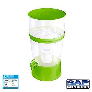 Filtro de Água The Filter de Plástico Verde Sap Filtros
