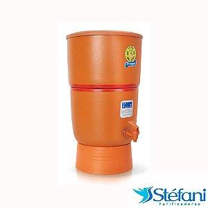 Filtro de Água de Barro Premium 10 Litros Cerâmica Stéfani