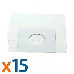 Kit 5 Pacotes 3 Sacos para Aspirador de Pó Consul Fit Compatível