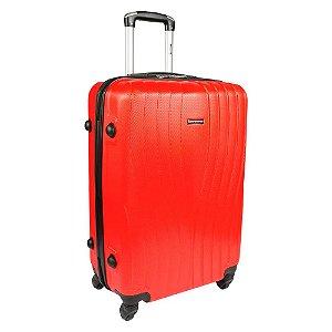 Mala Média de Viagem Com Rodinhas Sestini  360° Zigma - Vermelho