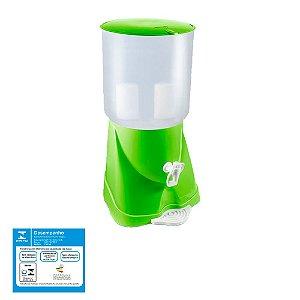 Filtro de Água de Plástico Max Fresh Verde Sap Filtros - 2 Velas