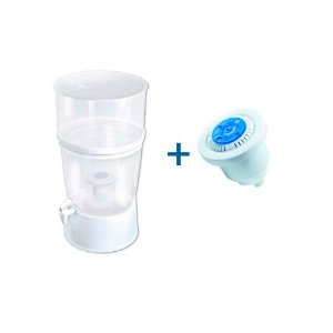 Kit Filtro de Água The Filter De Plástico Sap Filtros - Branco + Refil Sap Control