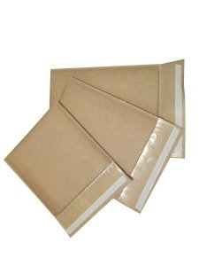 Kit com 10 Envelopes Kraft Bolha 19x19