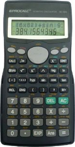 CALCULADORA CIENTIFICA PROCALC SC500