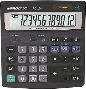 CALCULADORA DE MESA PROCALC PC224