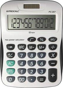 CALCULADORA DE MESA PROCALC PC257