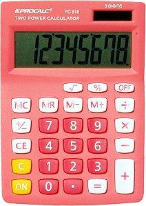 CALCULADORA DE MESA PROCALC PINK PC818