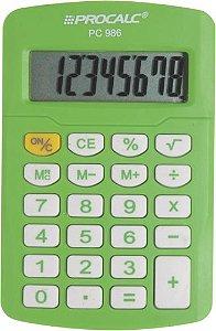 CALCULADORA PESSOAL PROCALC VERDE PC986-GN