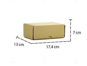 Caixa de Papelão para Correio - 17,4 cm x 13 cm x 7 cm (10 Unidades)