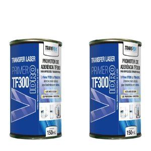 KIT 2 PRIMER TRANSFIX PARA VIDRO TF300 150ML