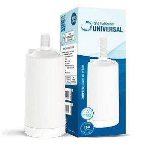 Refil Universal Rosca Curta - Blister - Planeta Água 1034C