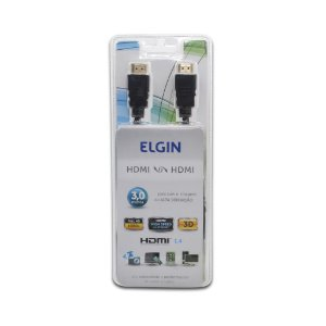Cabo HDMI Full HD 3D 3,0 m Elgin