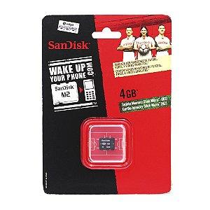 Cartão de Memória San Disk M2 4gb