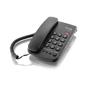 Telefone de Mesa com Fio Elgin TCF-2000 Preto