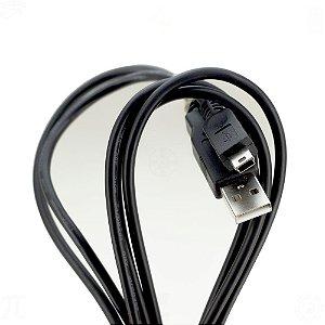 Cabo USB 2.0 JCAA - Mini 2.0 AM x Mini M 1,2M V3