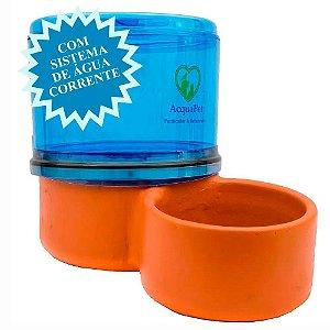 Bebedouro para Gatos Filtro Acquapet Azul com Bomba 2,5 Litros 110v