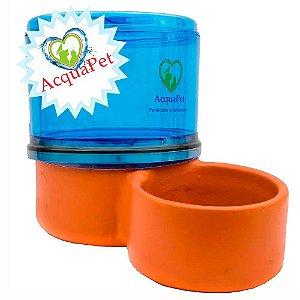 Bebedouro para Cachorros Filtro com Vela Acquapet Azul 4 Litros