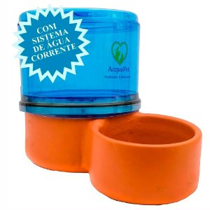 Bebedouro para Gatos Filtro Acquapet Azul com Bomba 4 Litros 220v