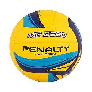 Bola de Vôlei Oficial Penalty MG3600 VI Azul e Amarelo