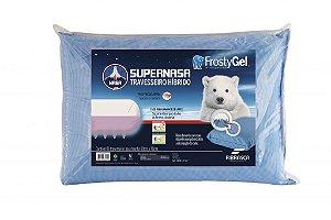 Travesseiro Viscoelástico Fibrasca Frostygel Antiácaro Frio SuperNasa