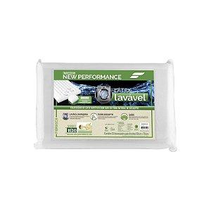 Travesseiro Látex Fibrasca Antiácaro Lavável Sintético Eucaliptus - 4216