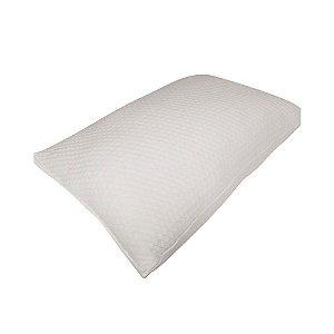 Travesseiro Plumax Lavável Poliuretano Toque de Rosas Fibrasca 4585