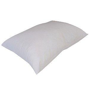 Travesseiro Pele De Pêssego Lavável Poliéster Fibrasca 4565