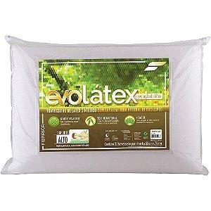 Travesseiro Látex Natural Evolatex Alto Poliuretano Fibrasca 4428