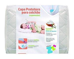 Capa Protetora De Colchão De Berço Baby Fibrasca Z9379