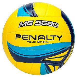 Bola de Vôlei Penalty MG3600 520314 Cor Amarelo e Azul 3760