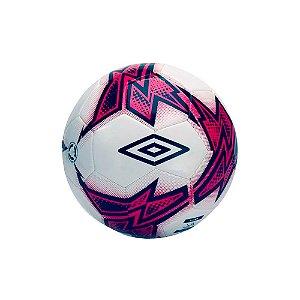 Bola Para Futebol de Campo Umbro Neo Target TSBE - Branco e Rosa