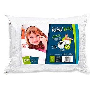 Travesseiro Percal Plumax Kids com Zíper Z4325 Fibrasca