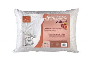 TRAVESSEIRO PELE DE PESSEGO MATELASSE 4330 FIBRASCA