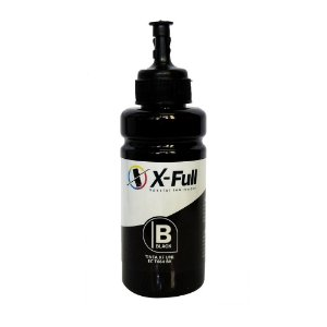 TINTA PARA EPSON L300 CORANTE XFULL BLACK 100ML (SEM CAIXA)