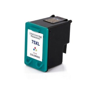 Cartucho para HP 75 Colorido CB338WL 14ml Compatível