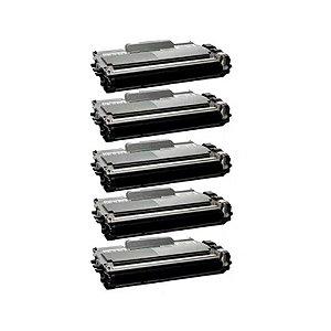 Kit 5 Toner Brother TN 410 | 420 | HL 2130 | DCP7055 2.6k Compatível
