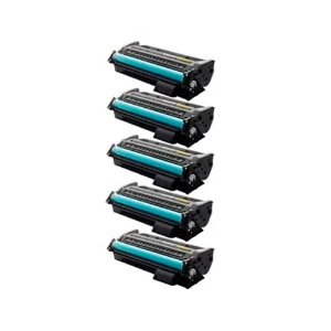 Kit 5 Toner para HP P2035 | P2055DN | P2055 | CE505A Compatível