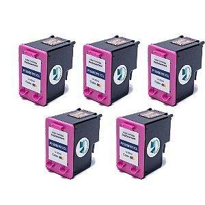 Kit 5 Cartuchos HP 901XL | CC655AL Alto Rendimento Colorido Compatível 14ml