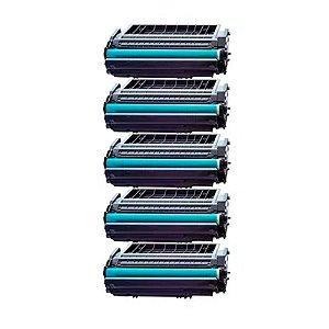 Kit 5 Toner para HP 1320 | 3390 | P2014 | P2015 | Q5949X | 49X | Q7553X | 53X Alto Rendimento Compat
