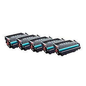 Kit 5 Toner HP P2055 | P2055DN | CE505X | 05X Alto Rendimento 6.5k Compatível
