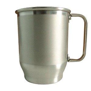 Caneca para sublimação tarja de aluminio 500ml