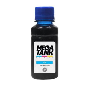 Tinta para Canon Gl 190 Cyan 100ml Corante Mega Tank