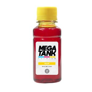 Compatível Tinta Impressora Canon G4100 Yellow 100ml Corante Mega Tank