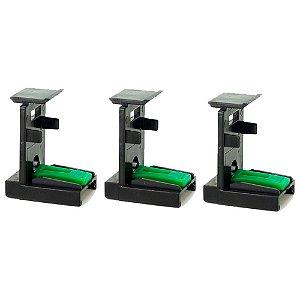 Compatível Kit 3 Snap Fill HP Serie 3000 | 90 | Canon | Lexmark Universal
