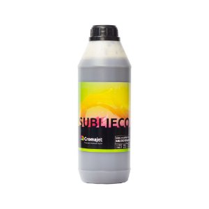 Tinta Subli Eco Black 1kg Universal Cromajet